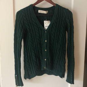 Zara Cable Knit Cardigan